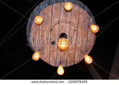 wooden light wheel